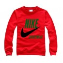 Pull Nike Rouge Soldes Nice