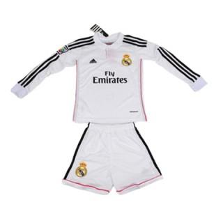 Real Madrid Enfant Manches Longue 2015/16 Domicile Authentique