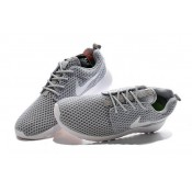 Roshe Run Nike Chaussure Gris Authentique