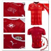 Suisse Maillot Domicile Coupe Euro 2016