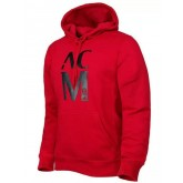 Sweat-Shirt D'Ac Milan 2015/2016 - Rouge Soldes Avignon
