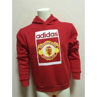 Sweat-Shirt De Manchester United 2015/2016 - Rouge Nouveau