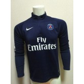 Sweat-Shirt De Psg 2015/2016 - Bleu Ventes Privees
