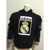 Sweat-Shirt De Real Madrid 2015/2016 - Noir Soldes Cannes