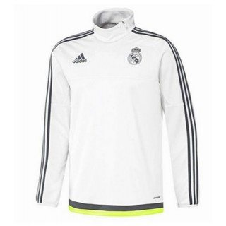 Sweat-Shirt Real Madrid 2015/2016 -- Blanc Fr