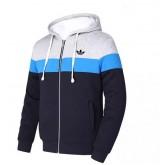 Sweater Adidas 2016 - Gris/Bleu/Noir Ventes Privees