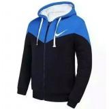 Sweater Nike 2016 - Bleu/Noir Soldes France