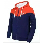 Sweater Nike 2016 - Orange/Bleu Soldes Paris