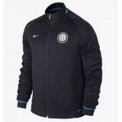 Veste D'Inter Milan 2015/2016 - Noir Pas Cher Paris